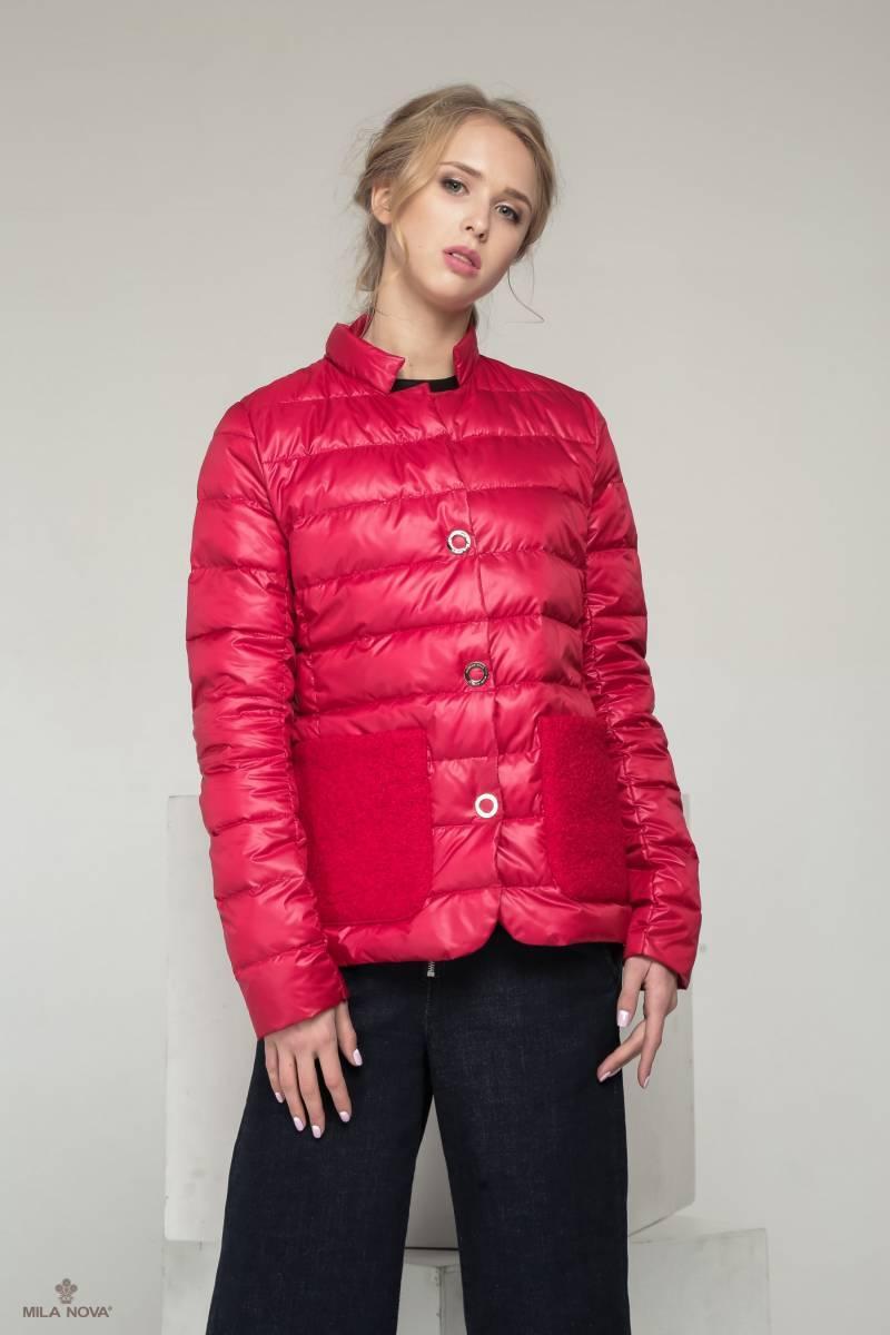 905fa6b2724d Мила Нова Куртка С-25 Красный — в Категории
