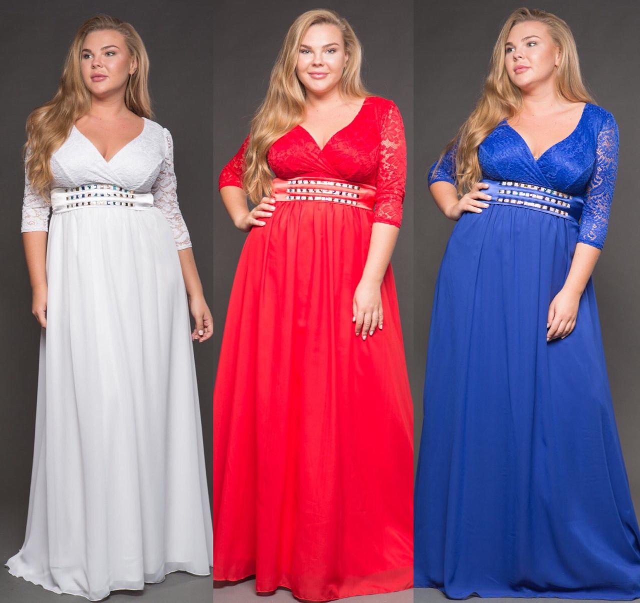 999cc9785abf Шикарное вечернее платье. 3 цвета. Р-р  48-52 единый., цена 1 118,63 ...