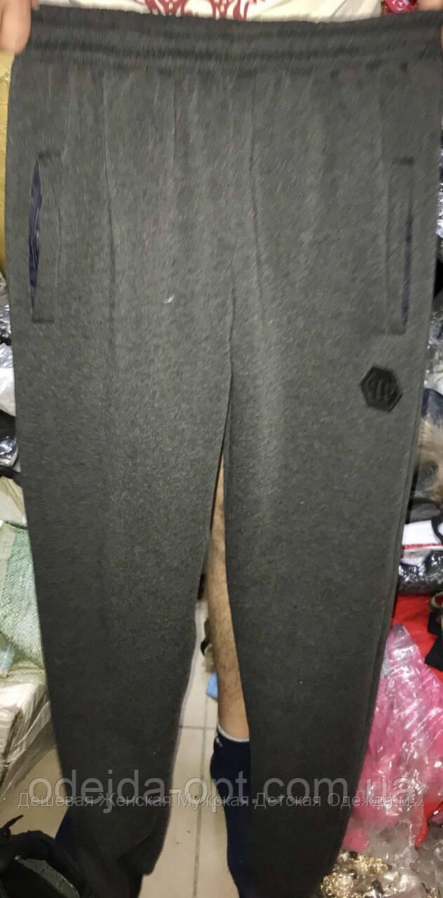 Чоловічі спорт штани трикотаж бренд на флісі