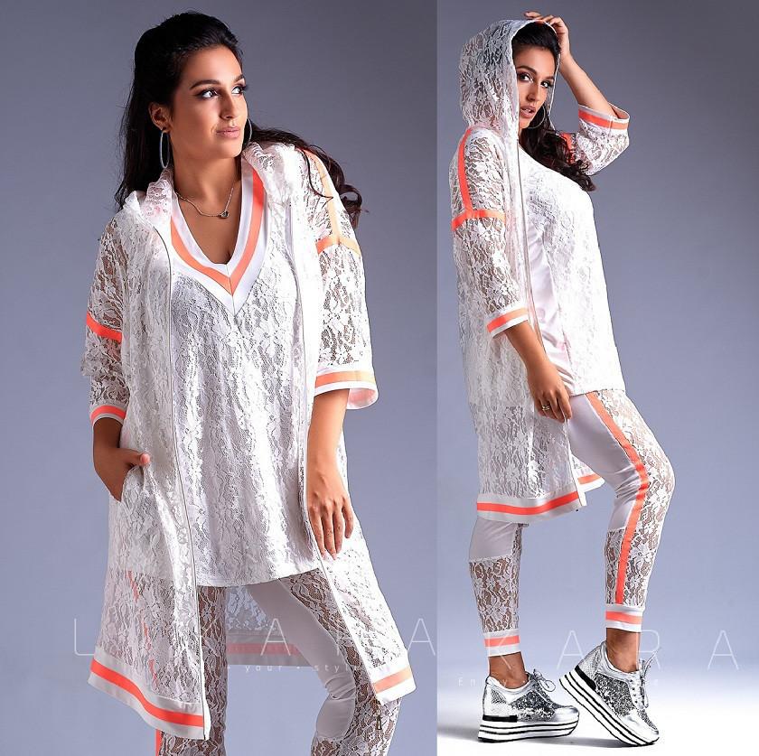 3f33697af61 Супер модный женский прогулочный костюм. Белый