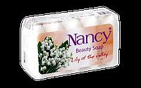 "Мыло туалетное Dalan ""NANCY Beauty""  5*60г. Ландыш  (экопак)"
