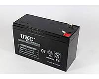 Гелевый аккумулятор питания BATTERY UKC 12V, 9A, – 200 до плюс 500 °C, аккумуляторы BATTERY UKC, батареи BATTERY UKC, аккумуляторные батареи
