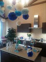 Кенди бар в голубо-синем цвете