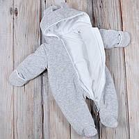 Теплые велюровые и меховые комбинезоны для малышей - обзор