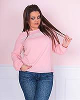 63aae2f3da8 Цветочная блуза пудра в категории блузки и туники женские в Украине ...