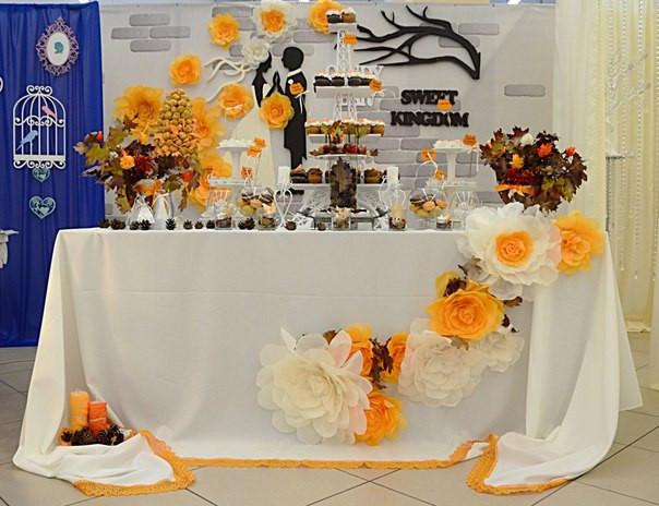 Организация Кенди бара на свадьбе