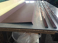 Нащельник оцинкованный, металлический, металлические отливы оконные металлические, отлив оконный, козырьки