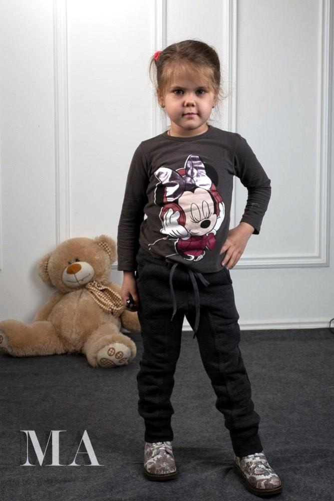 Детские спортивные штаны трехнитка
