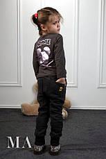 Детские спортивные штаны трехнитка, фото 3
