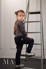 Детские спортивные штаны трехнитка, фото 2