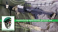 Ремень оружейный пулеметный повышенного комфорта с демфером  мультикам