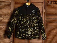 Зимняя Мужская Теплая Куртка-Парка Anti Social Social Club Куртки Зеленые Хаки Зимние Очень Теплые Парки