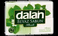 Мыло туалетное Dalan White Soap 4*125г. Банное (экопак)