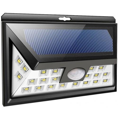 Светодиодный светильник 8Вт на солнечной батарее с датчиком движения