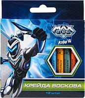 Мел восковый (12 цветов) KITE 2014 Max Steel 070 (MX14-070K)