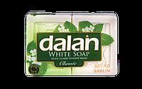 Мыло туалетное Dalan White Soap 2*110г. Банное (экопак)