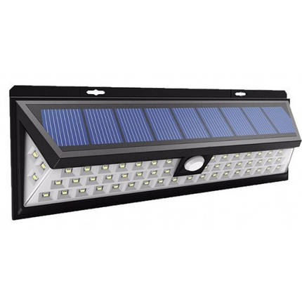 Светильник 12W на солнечной батарее с датчиком движения на три режима, фото 2