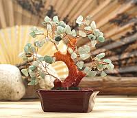 Дерево счастья с камнем хризолит