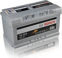 Автомобильный аккумулятор BOSCH 6ст - 85 Ah 800 A (S5010) (+ справа)