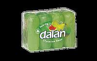 Мыло туалетное Dalan Глицериновое 4*100г. Инжир (экопак)