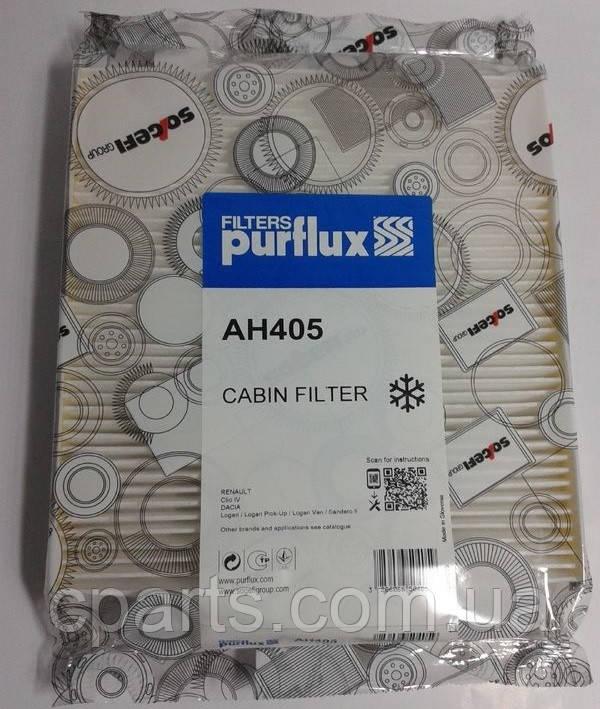Фильтр салона Renault Logan MCV 2 (Purflux AH405)(высокое качество)