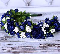 Обідок Чудовий (синій з білим), фото 1