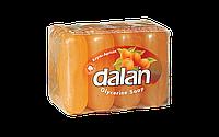 Мыло туалетное Dalan Глицериновое 4*100г. Абрикос (экопак)