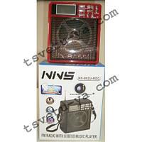 Фонарь радио приемник переносной NNS ns-082u Rec с FM, AM, USB, Cardreader мощный светодиодный, аккумуляторный
