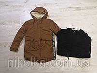 Куртки утеплённые для мальчиков оптом, Glo-story, 134/140-170 рр., арт. BSX-6678, фото 2