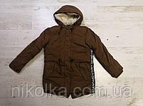 Куртки утеплённые для мальчиков оптом, Glo-story, 134/140-170 рр., арт. BSX-6678, фото 4