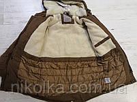 Куртки утеплённые для мальчиков оптом, Glo-story, 134/140-170 рр., арт. BSX-6678, фото 6