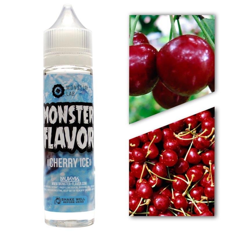 Жидкость Monster Flavor - Cherry Ice (Ледяная Вишня), 3 mg