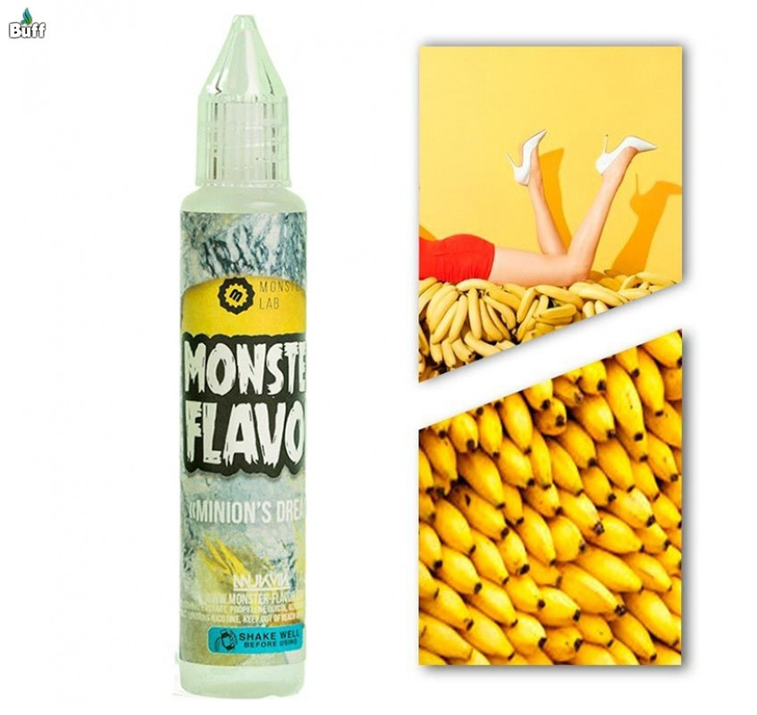 Жидкость Monster Flavor - Minion`s Dream (Банан), 3 mg