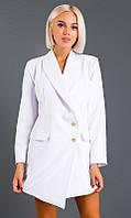 Платье-пиджак,белое 42-44,44-46, фото 1