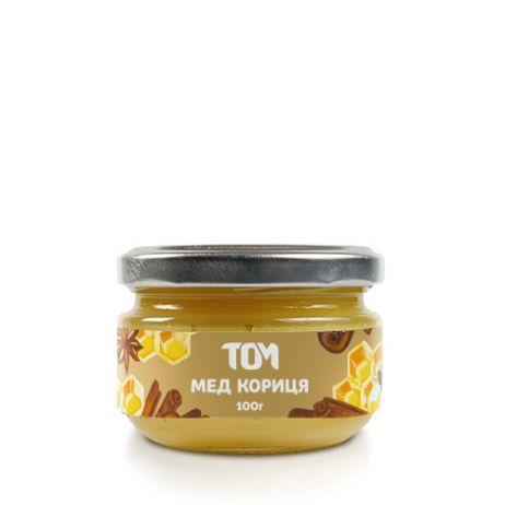 Мед натуральный ТОМ - Корица (100 грамм)