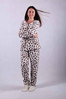 Махровые пижамы женские, теплые. , фото 1