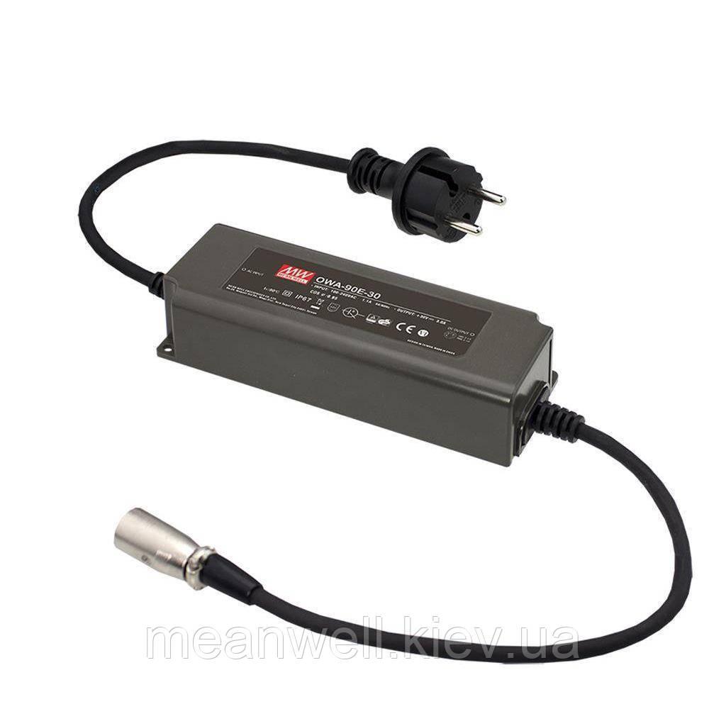 OWA-90E-36 AC DC адаптер питания 36В, 2,5А Mean Well