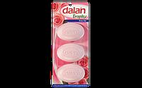 Мыло туалетное Dalan Trophy 3*90г. Роза (экопак)