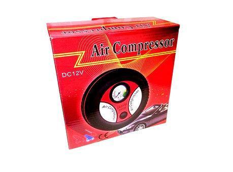 Автомобильный компрессор для колес Mini Air Compressor