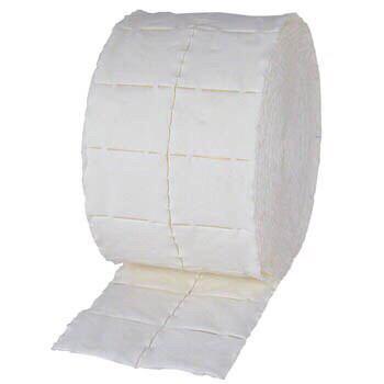 Безворсовые салфетки в рулоне 300шт бумажные