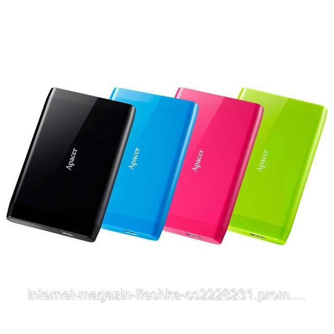Внешний жесткий дикс PHD External 2.5'' Apacer USB 3.0 AC235 500GB Green (color box)