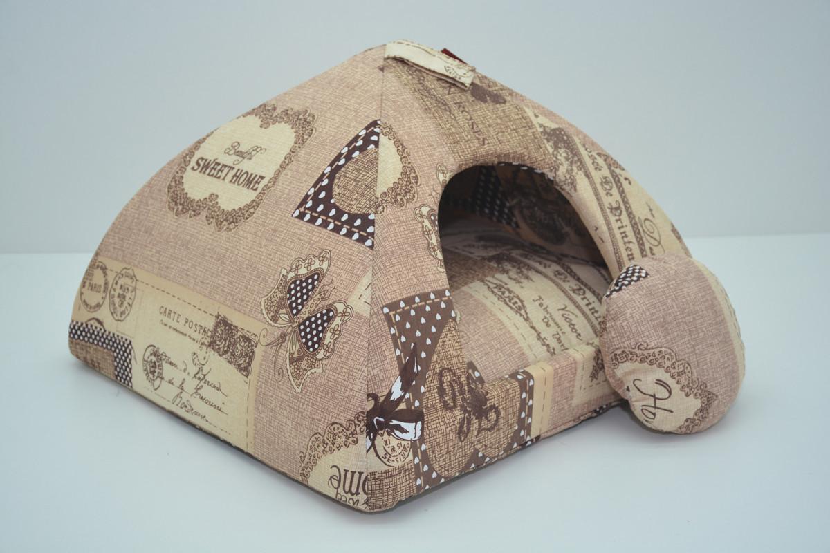 Домик юрта для котов и собак бязь