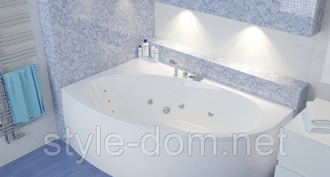 Ванна акриловая MANON RIVA угловая 170х110, фото 2