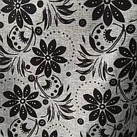 Мебельная ткань рогожка для мягкой мебели диванов ширина -150 см сублимация ш-3091
