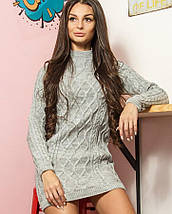 Женское вязаное платье-туника (Софи mrb), фото 3