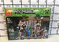 Конструктор Lele 79074 Minecraft Майнкрафт Шахта 922 детали, фото 1