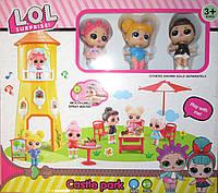 Башня с мебелью для куколок LOL сюрприз