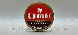 Centralin Schuhcreme Крем в банке для обуви 75 мл Т.КОРИЧНЕВЫЙ