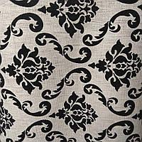 Мебельная ткань рогожка для мягкой мебели диванов ширина -150 см сублимация ш-3094