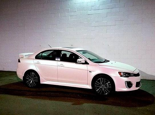 KPMF 75474 pink white starlight, бело-розовый глянцевый хамелеон.